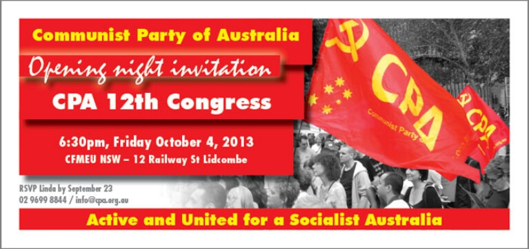 12th National Congress (4 - 7 October 2013)