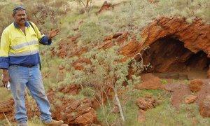 46,000 year old caves at the Juukan Gorge in the Pilbara region of Western Australia.