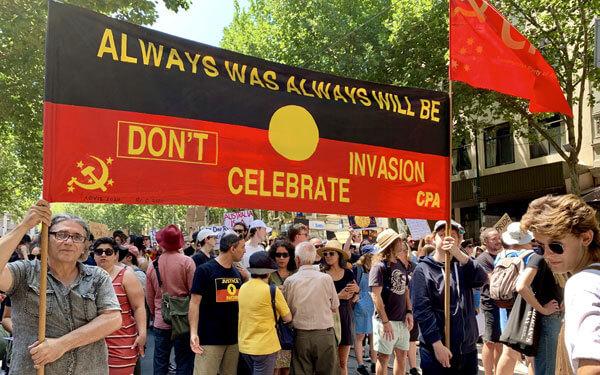 Don't celebrate invasion.