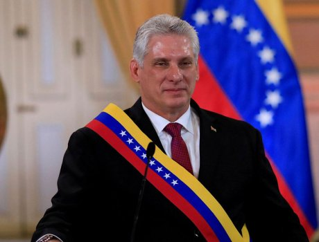 Congratulatory message  to Miguel Diaz-Canel