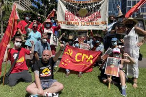 The CPA attends invasion day rallies nationwide