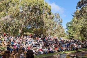 """Save Perth Hills"" rally in Mundaring, WA"