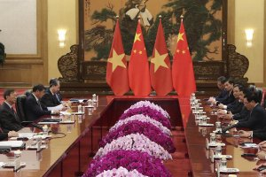 President holds online talks with top Chinese leader