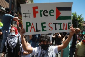 """""""Liberation is within our reach"""": Palestine goes on strike"""
