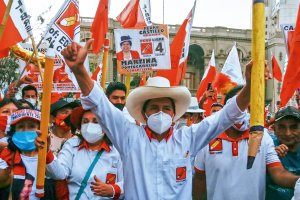 Peru elects a left-wing president