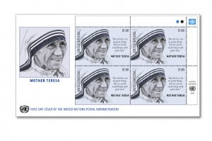 Mother Teresa and the politics of postage stamps